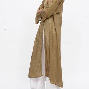 Zara Sweaters - Zara sheer long cardigan